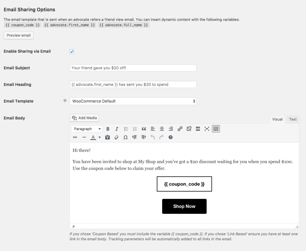 Getting Started With Refer A Friend Documentation Automatewoo